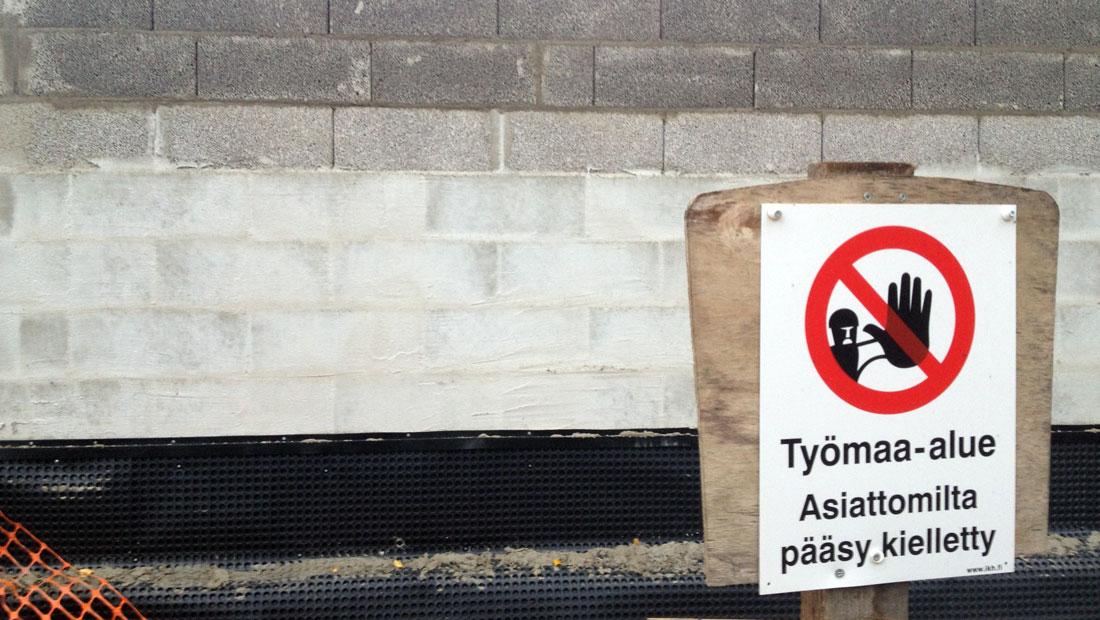 v-villas house construction site espoo finland
