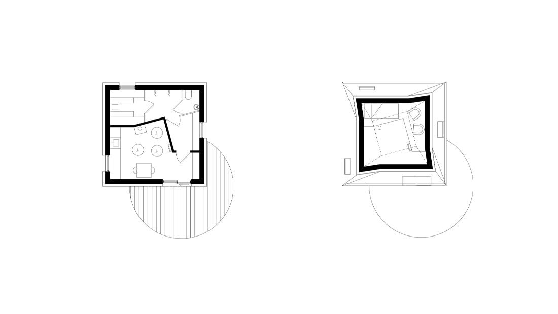 nexus house sauna building floorplan architect drawing