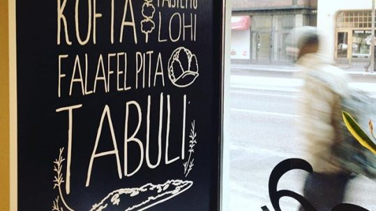 metro food helsinki window graphic design interior design paolo caravello studio void