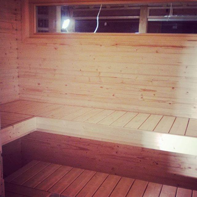 Pyramid House Finland sauna interior paolo caravello architecture studio void