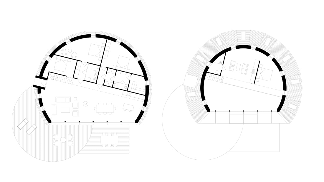 pulsar house architect drawing floor plan