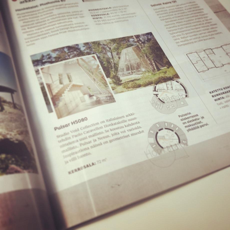 magazine pulsar nexus house paolo caravello studio void Honkatalot